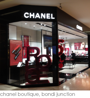 Chanel, Westfields Bondi Junction